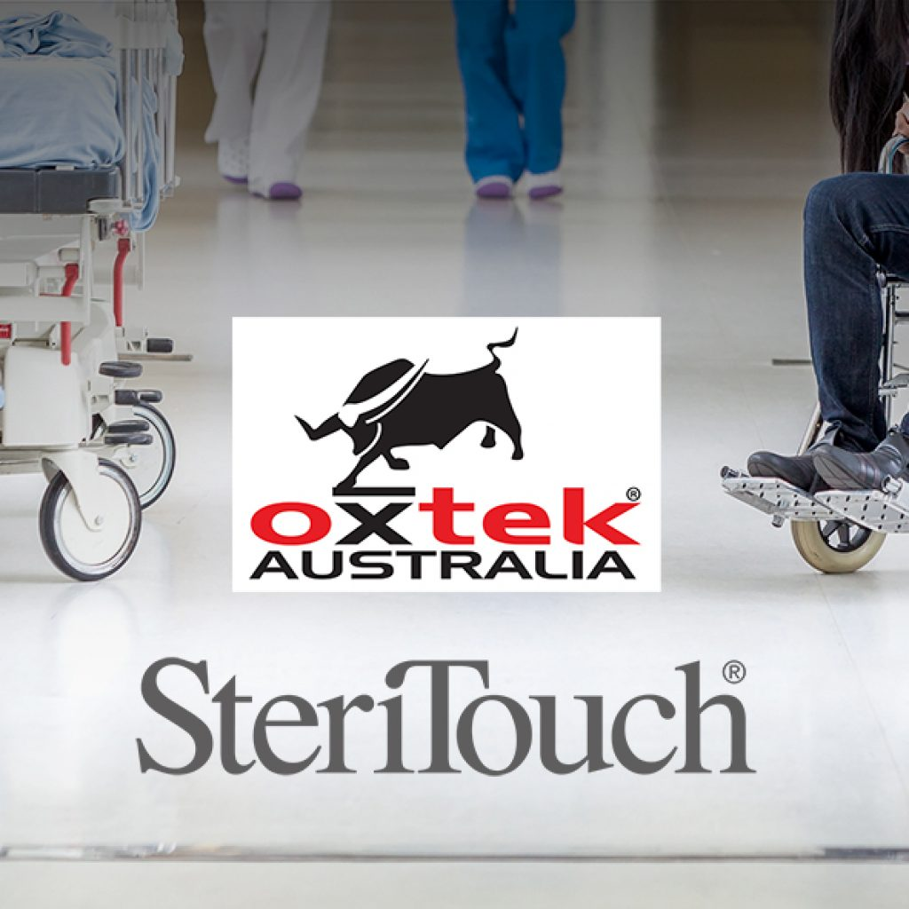 Oxtek Concrete Floor Protected By SteriTouch Anitmicrobial Technology